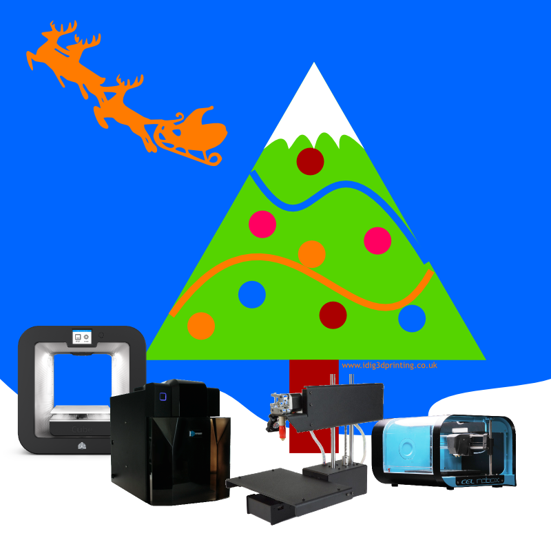 best 3D printers to buy for christmas