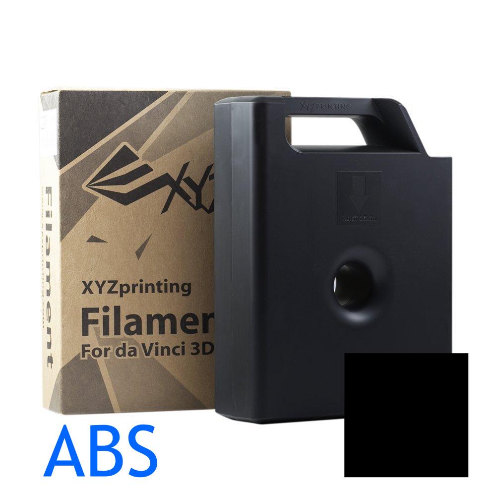 Black ABS XYZ 3D printer Cartridges