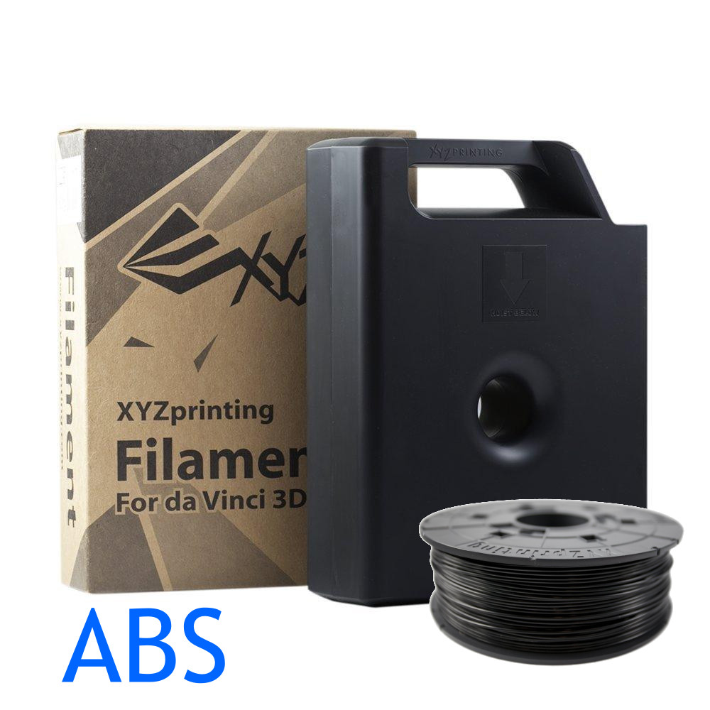 Black ABS XYZ 3D printer Cartridges
