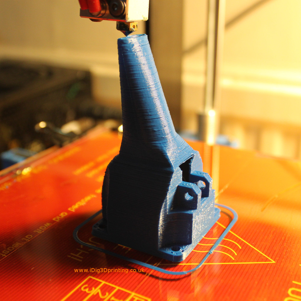 Designing a new part for our Prusa 3d printer