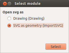Importing svg into freecad