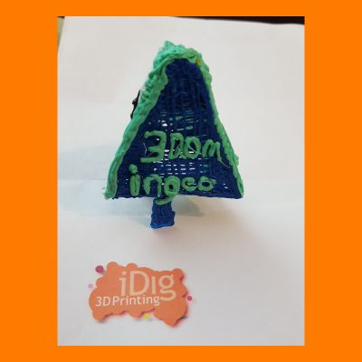 Ingeo PLA used with 3Doodler 3D pen