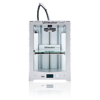 The new ultimaker 2 plus extended 3D printer