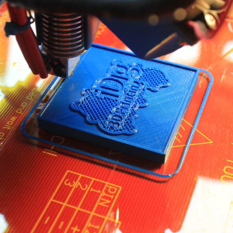 printing out your iDig3Dprinting test Plaque