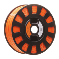 Orange Robox ABS smartreel filament rbx-abs-or023
