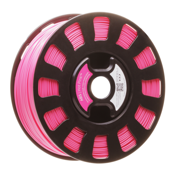 Hot Pink robox ABS filament rbx-abs-rd535