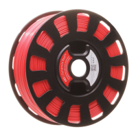 Dynamite Red ABS robox filament rbx-abs-rd537