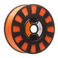 Highway Orange PLA filament for the Robox 3D printer rbx-pla-or022