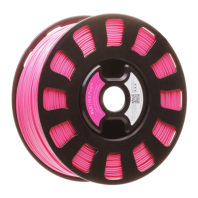 Hot Pink PLA Robox Filament rbx-pla-rd534