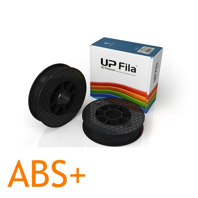UP ABS 3d printer filament black