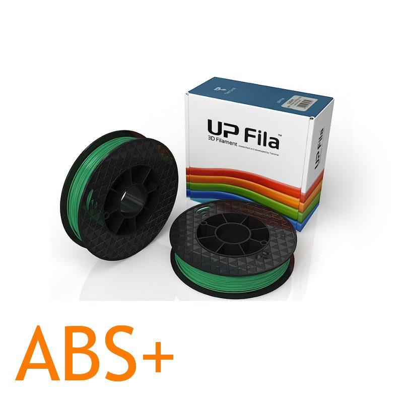 UP ABS plus 3D printer filament Green