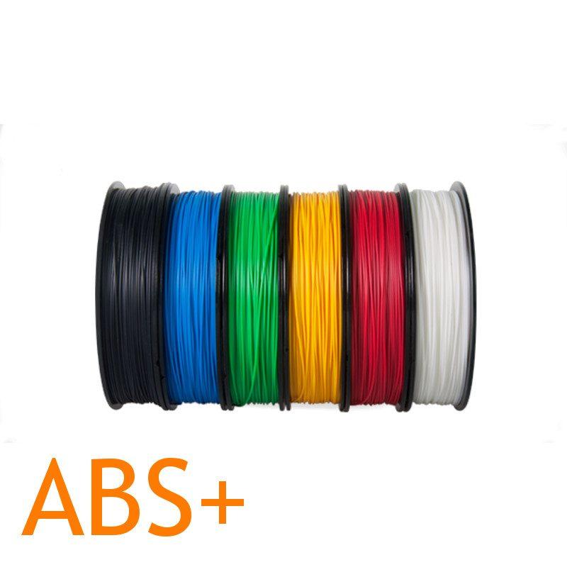 UP ABS Plus 3D printer filament multipack