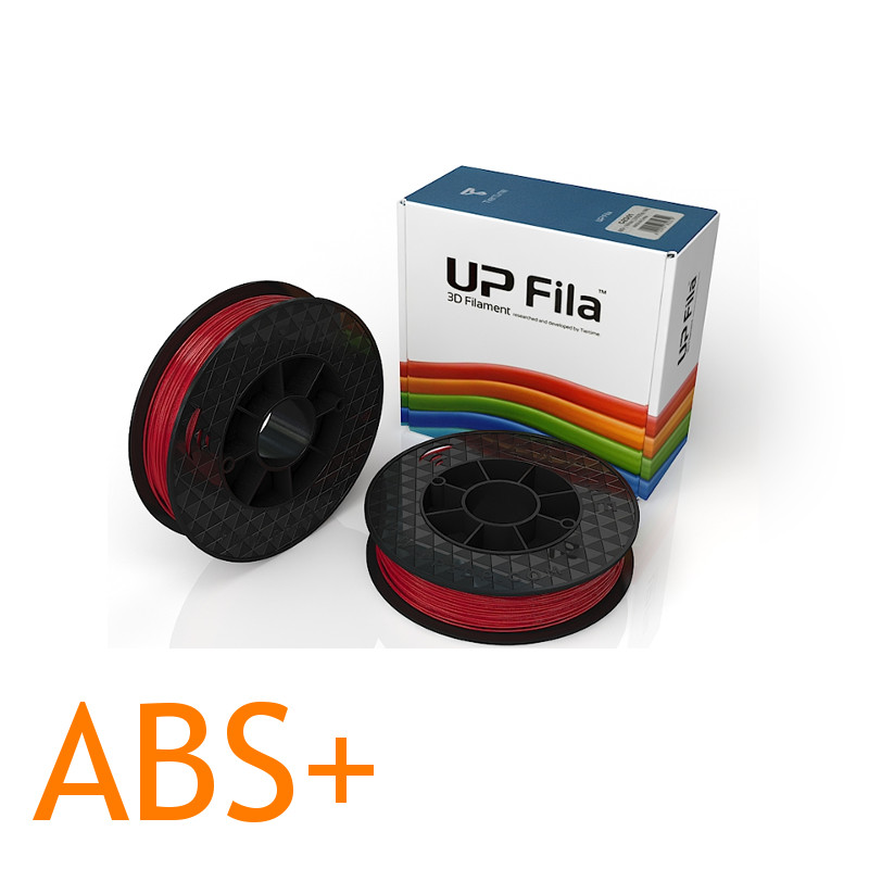 Red ABS plus UP 3D printer filament