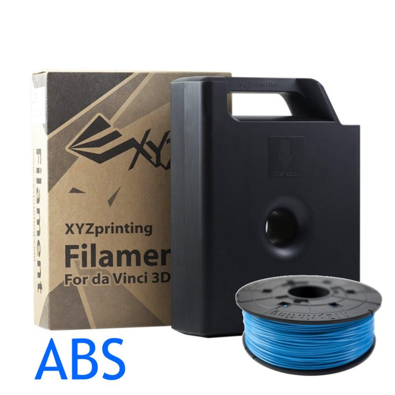 XYZ Steel Blue ABS da vinci filament