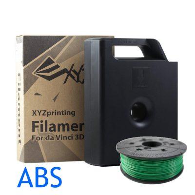 XYZ Bottle Green ABS da vinci filament