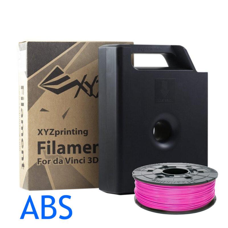 Neon Magenta ABS filament for the Da Vinci XYZ 3D printer