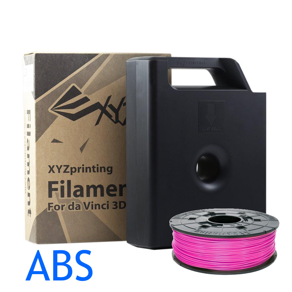 Neon Magenta ABS filament for the Da Vinci XYZ 3D printer