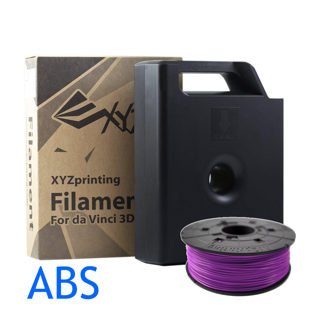 Purpure purple ABS DavVinci XYZ 3D printer filament