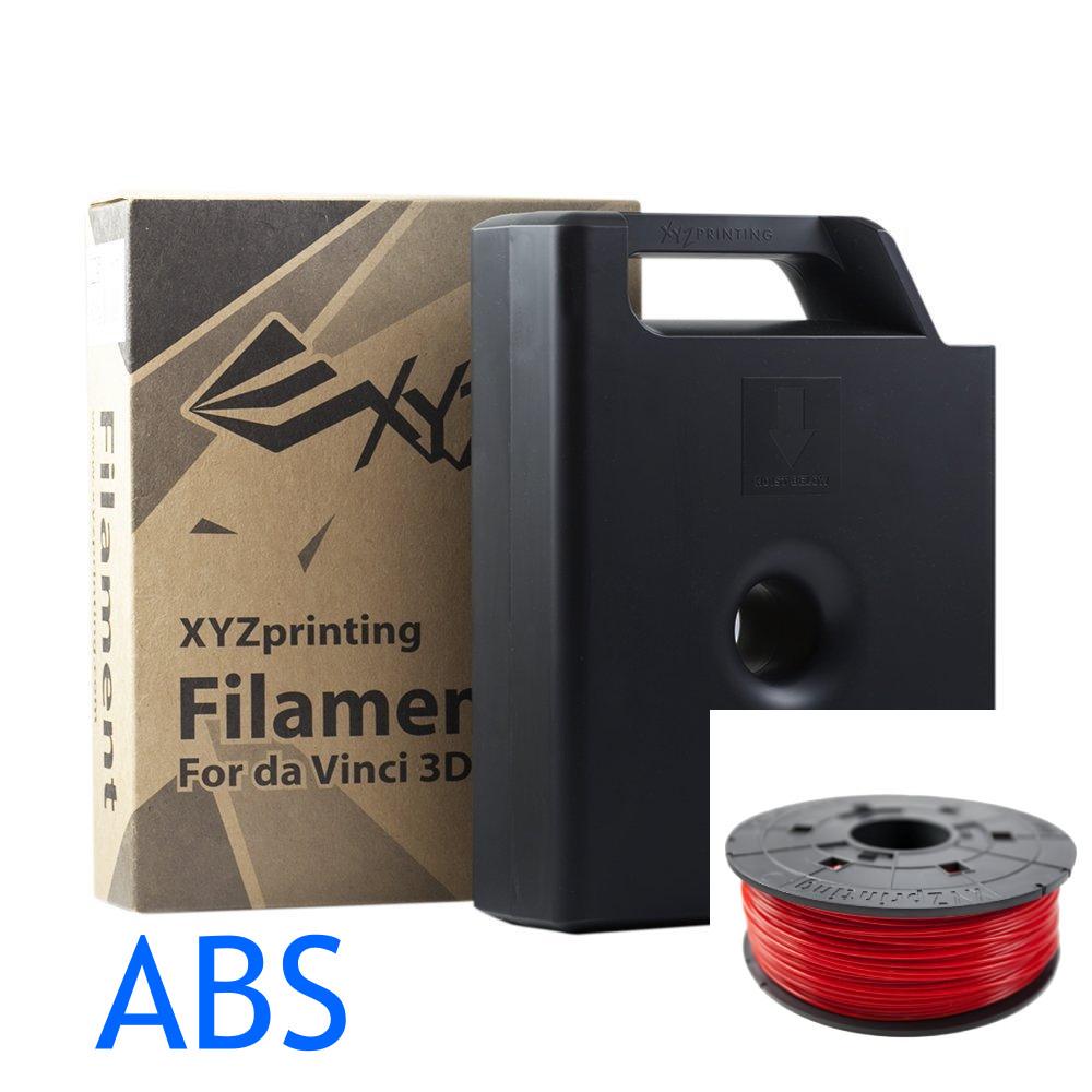 Red Da vinci ABS filament