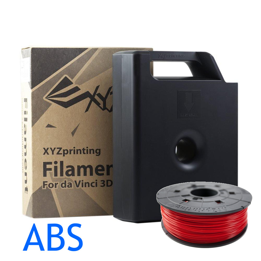 Red Da vinci ABS filament