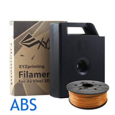 XYZ DaVinci 3D printer Tangerine ABS filament