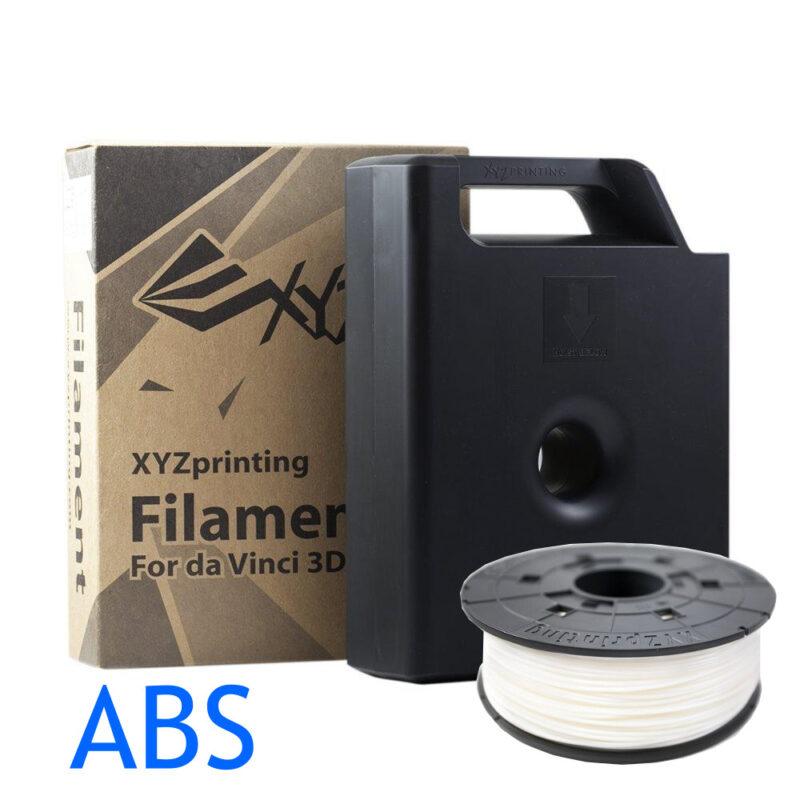 Snow white XYZ Da Vinci 3D printer ABS filament