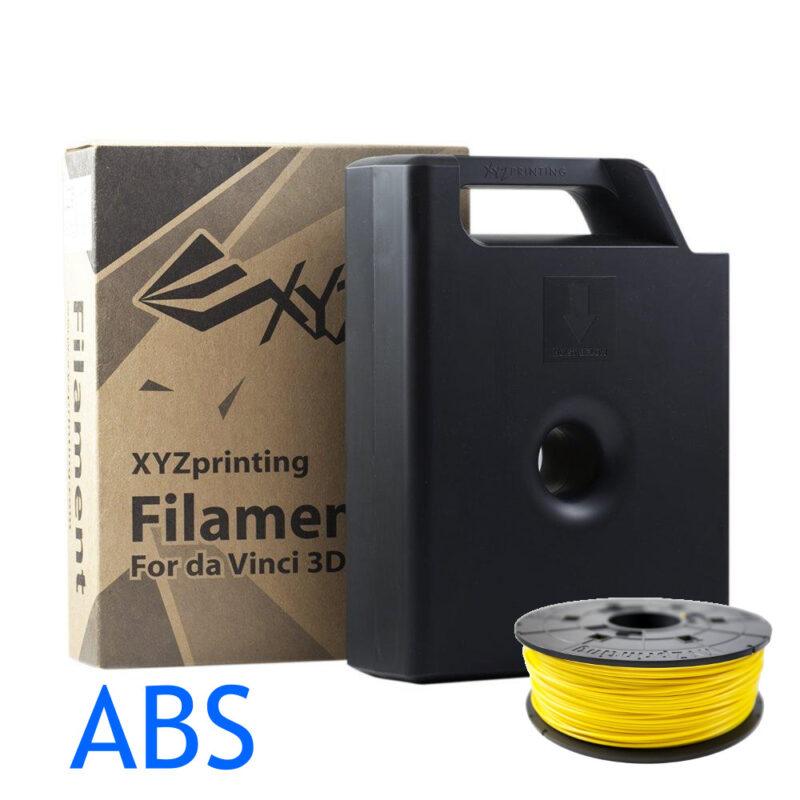 Yellow Da Vinci ABS filament