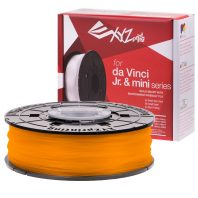 Clear Tangerine PLA for the Da Vinci Junior, Da Vinci Nano and Da Vinci Minimaker
