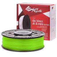 XYZ neon green PLA for the Da Vinci Junior, Da Vinci Nano and Da Vinci Minimaker