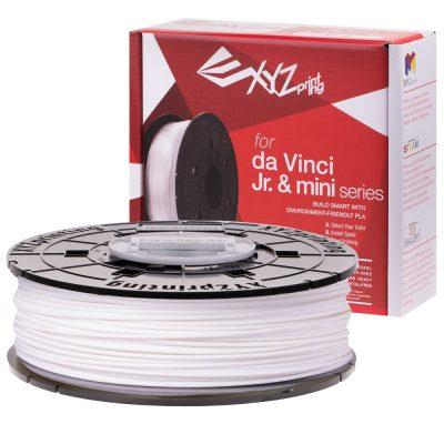 XYZ White PLA for the Da Vinci Junior, Da Vinci Nano and Da Vinci Minimaker