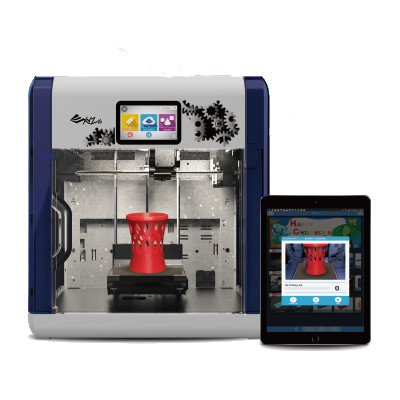 The Da Vinci 1.1 plus the 3D printer with wireless connectivity