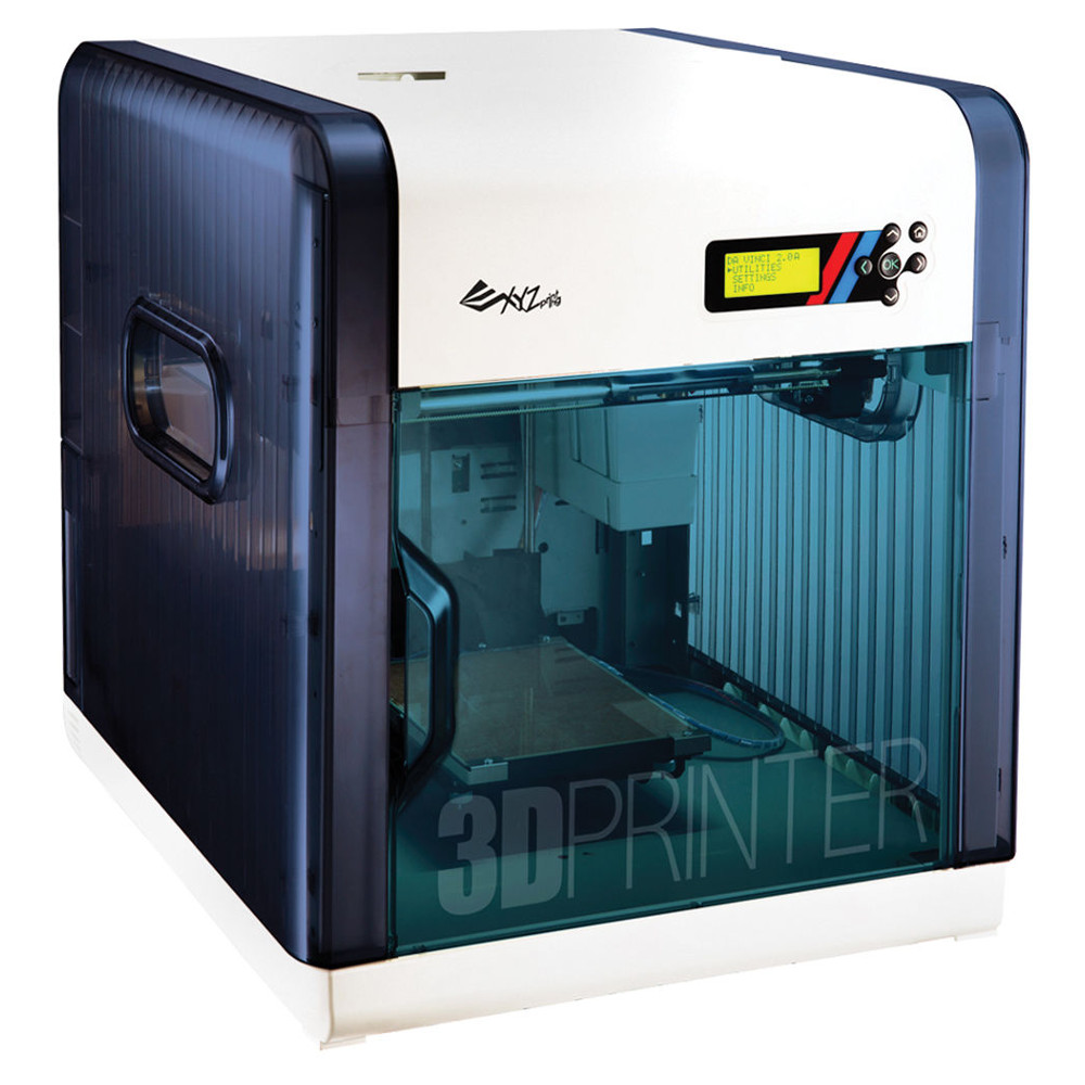 The Da Vinci 2.0a 3D printer