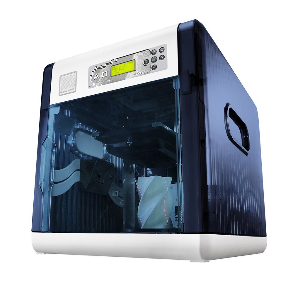 The Da Vinci 3D printer 3D scanner All in One