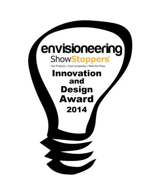 envisioneering 2014 award for the Da Vinci aio 3D printer
