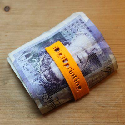 3D printable i Dig 3D printing money clip