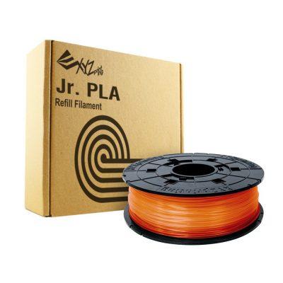 Clear Tangerine Dav vinci Junior PLA filament