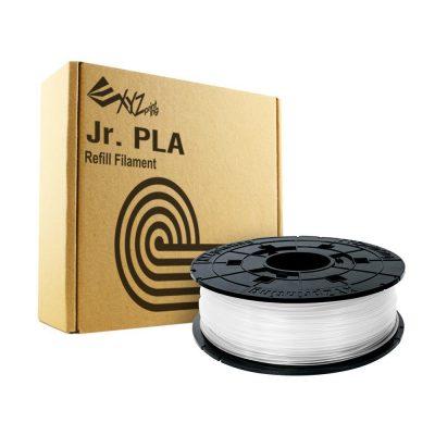 White XYZ DaVinci Jr filament for XYZ Junior 3D printers