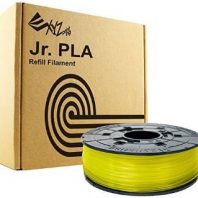 Da Vinci Junior Clear Yellow PLA filament