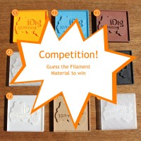 Identify the 3D printer filament competition
