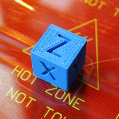 3D printer 20mm calibration cube