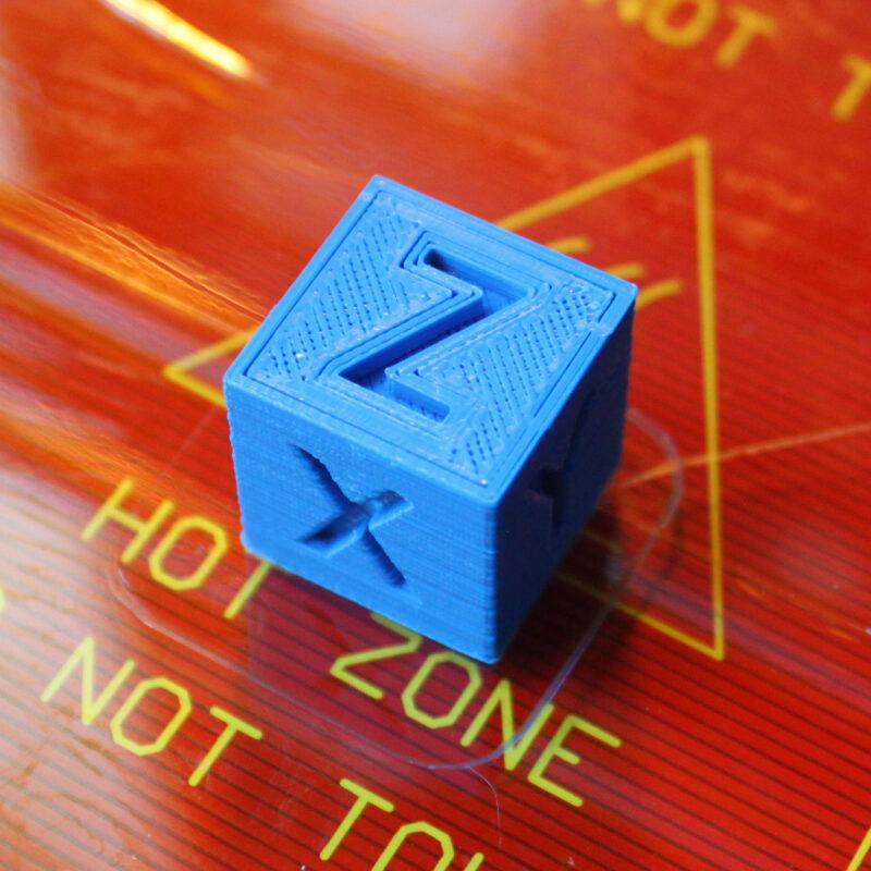 3D printer 20mm calibration cube