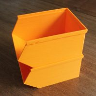 3D print your own stackable storage bins