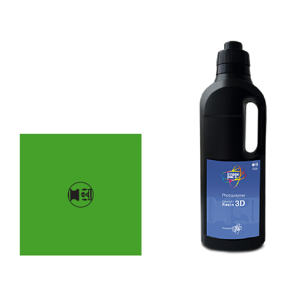 Green firm daylight photopolymer for the liquid crystal 10 sla 3D printer