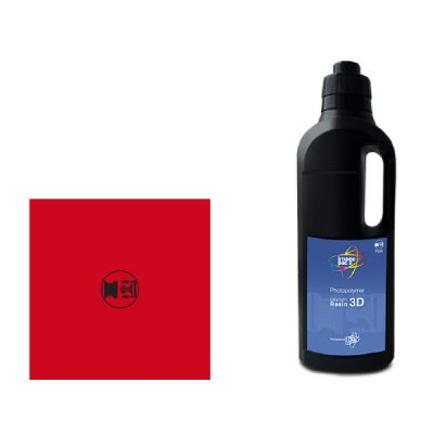 red firm sla resin for photocentrics liquid crystal sla 3d printer