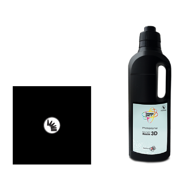flexible black resin for photocentric liquid crystal dpp 3d printer