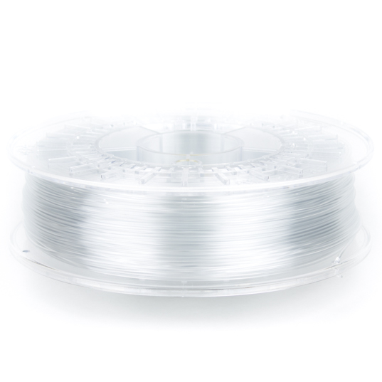 nGen clear 3D printer filament in 1.75mm and 2.85mm diameters