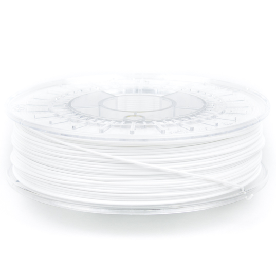 nGen White ColorFabb 3D printer filament in both 1.75mm and 2.85mm