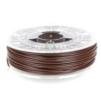 Chocolate Brown pla 3D printer filament from colorfabb