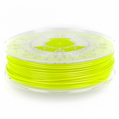 fluorescent green colorfabb PLA in 1.75mm and 2.85mm