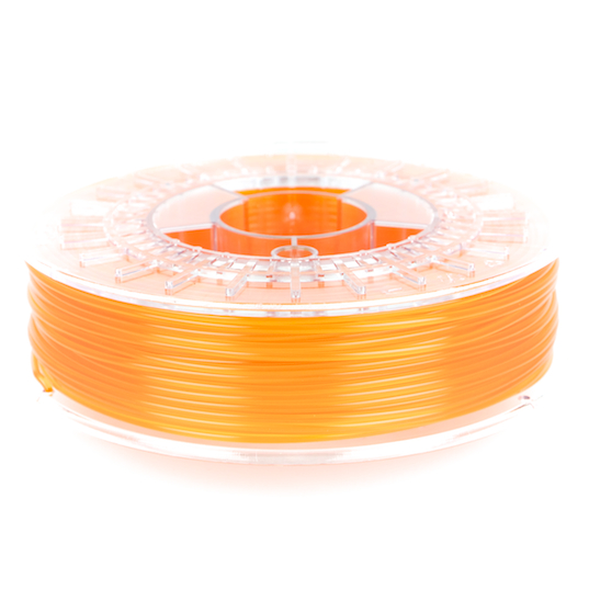 transparent orange colorfabb PLA 3D printer filament for 1.75mm and 2.85mm 3D printers